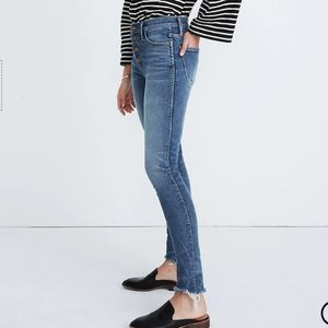 "Madewell10"" High-Rise Skinny Jeans"